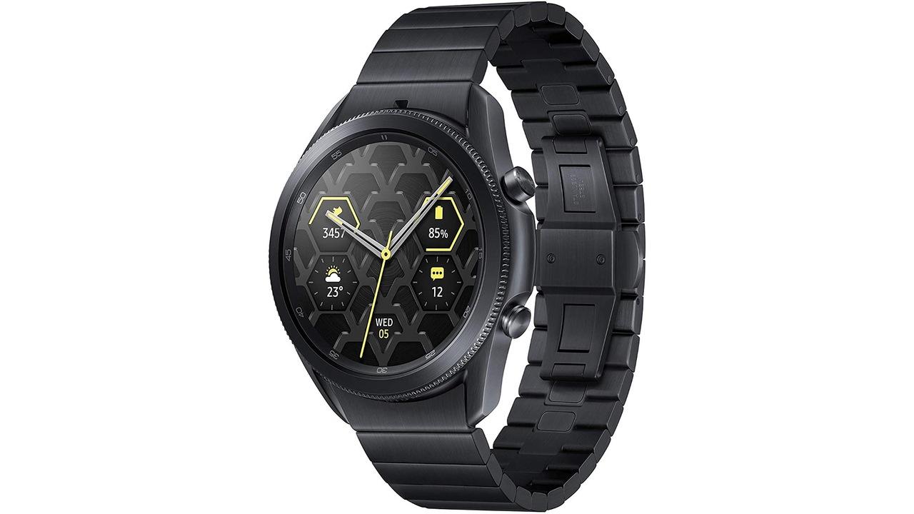 【Amazonタイムセール】チタンのスマートウォッチ「Galaxy Watch 3」が59,900円。チタン派は急げ!