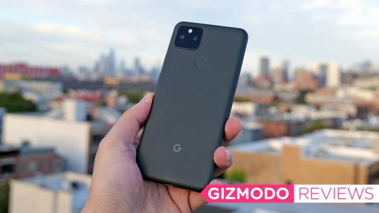 Google Pixel 5aレビュー:ミッドレンジスマホ王者の風格