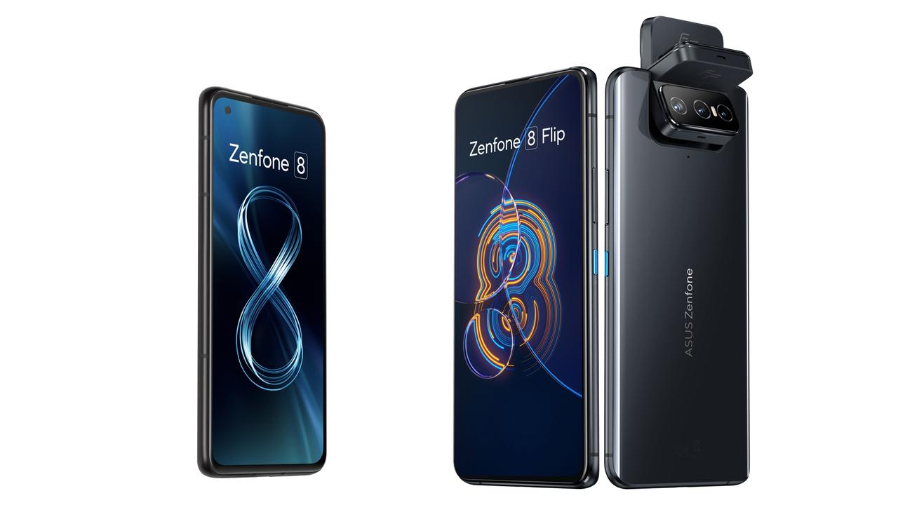 ASUSの全部入りフラッグシップ「Zenfone 8」とフリップカメラの「Zenfone 8 Flip」発表