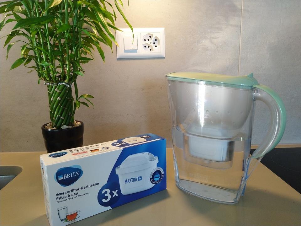 硬水を軟水にしてくれる浄水器BRITA(ブリタ)の好きなところ・気になるところ