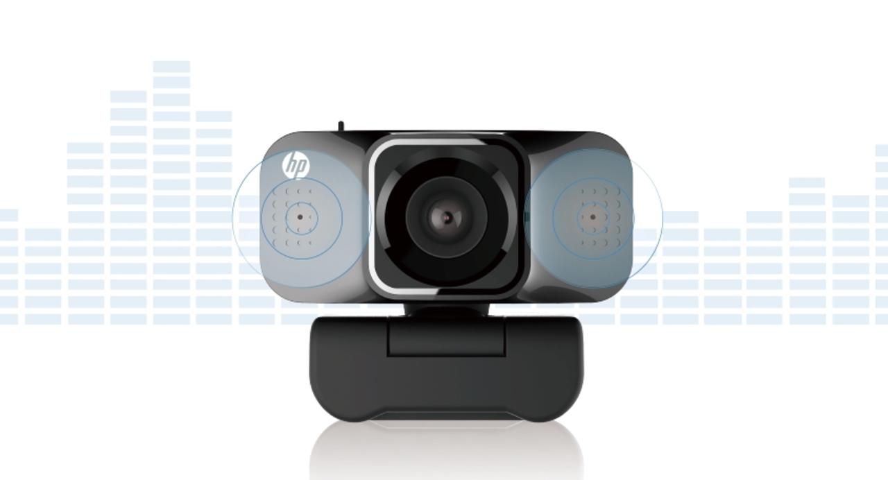 人の声を判別、騒音低減。HPのウェブカメラはリモート向けに進化している