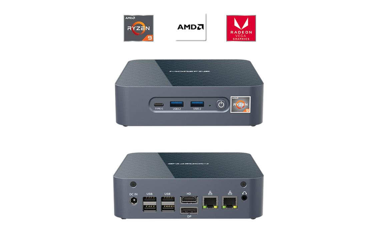 Ryzen 9 5900HX搭載のミニPCが499ドルから。これとモバイルモニターで良いのでは……?