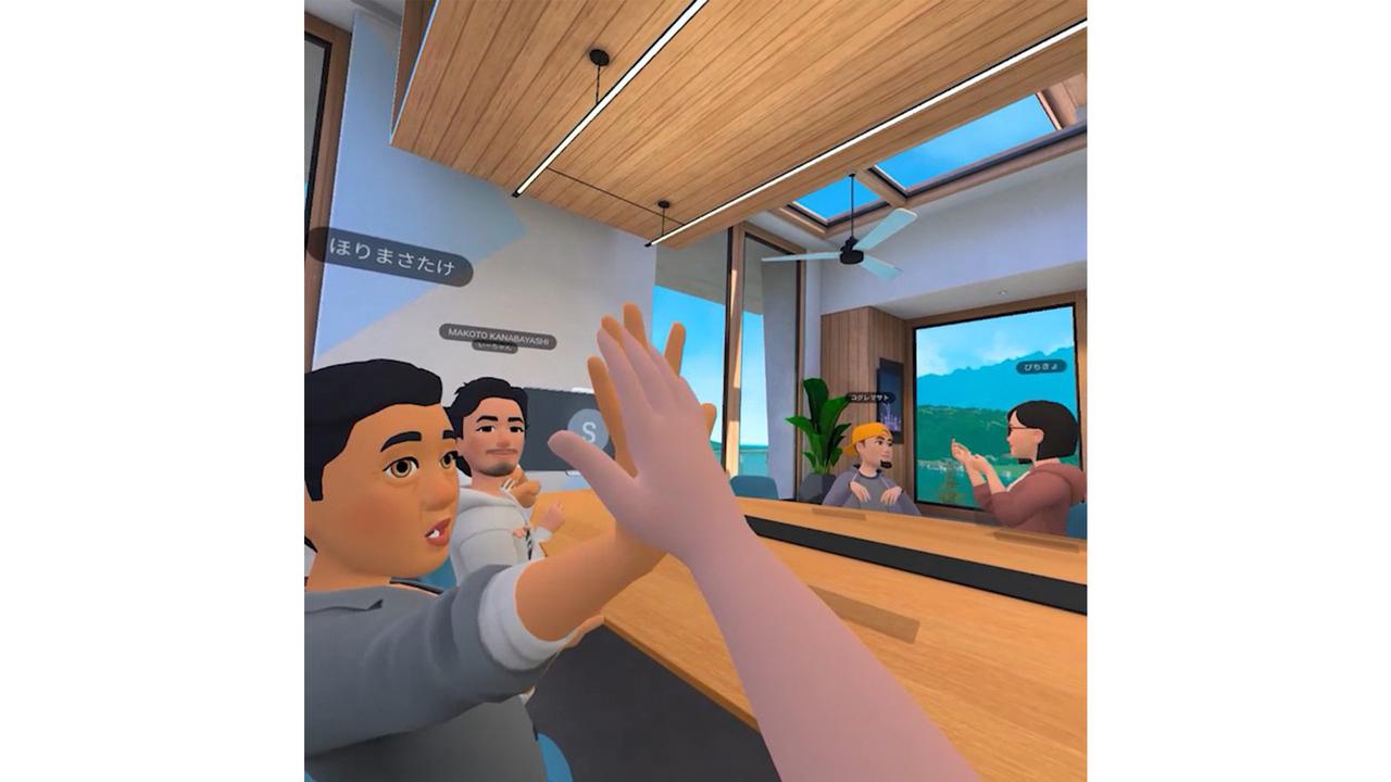 フェイスブックのVR会議室「Horizon Workrooms」、VR飲み会場に最高だった