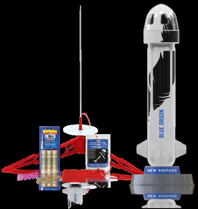 アマゾンの「ブルー・オリジン」ロケット、おうちで打ち上げできます