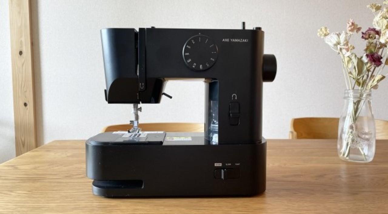 裁縫しない民にもおすすめな約1万円のクールなコンパクトミシン。家庭科の授業ぶりでも問題なく使えた!