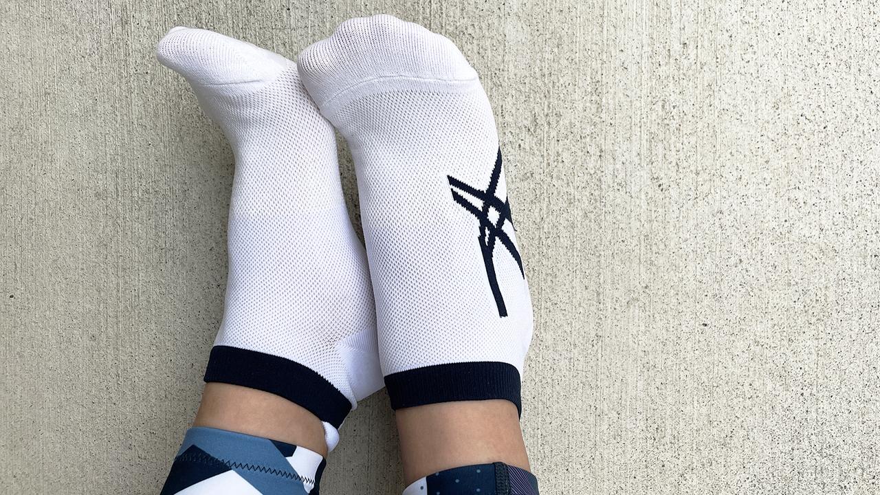 ムレない・ズレない。和紙×靴下の異色コンビが最高すぎるアシックスの高機能ソックス
