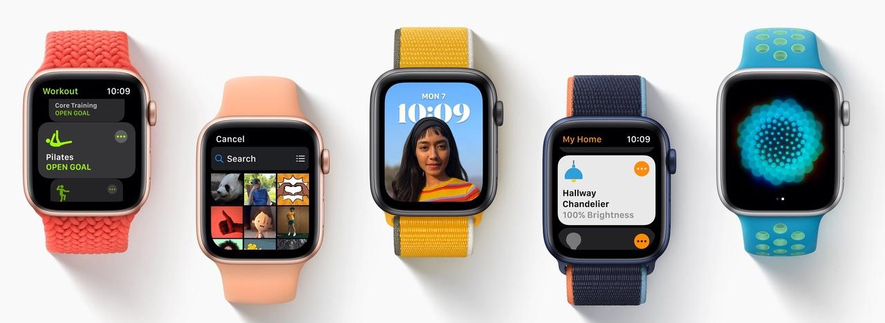 どんなの欲しい? Apple Watch Series 7、大画面用の新しい文字盤が追加されるかも?