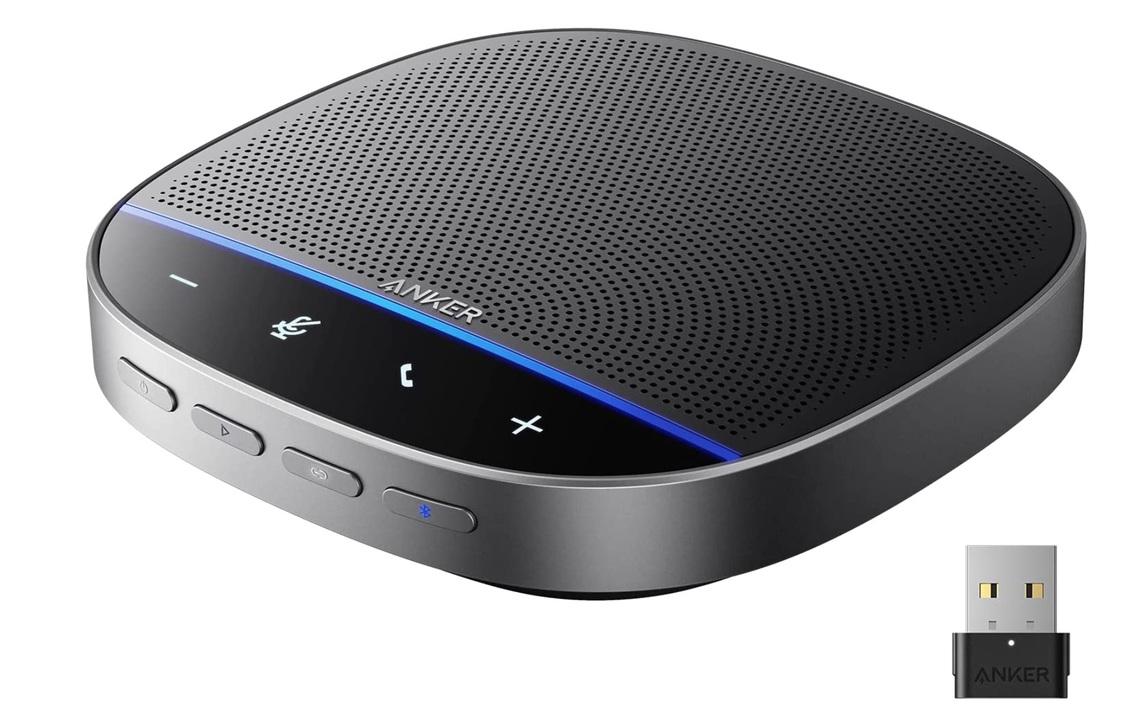 【今なら20%ポイント】1台で会議室の声を拾えます! Ankerのスピーカーフォン「PowerConf S500」が登場