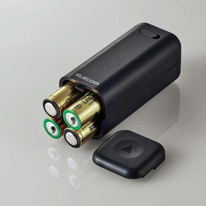 単3電池4本でスマホの充電ができる! 防災&アウトドアで活躍する乾電池式モバイルバッテリー