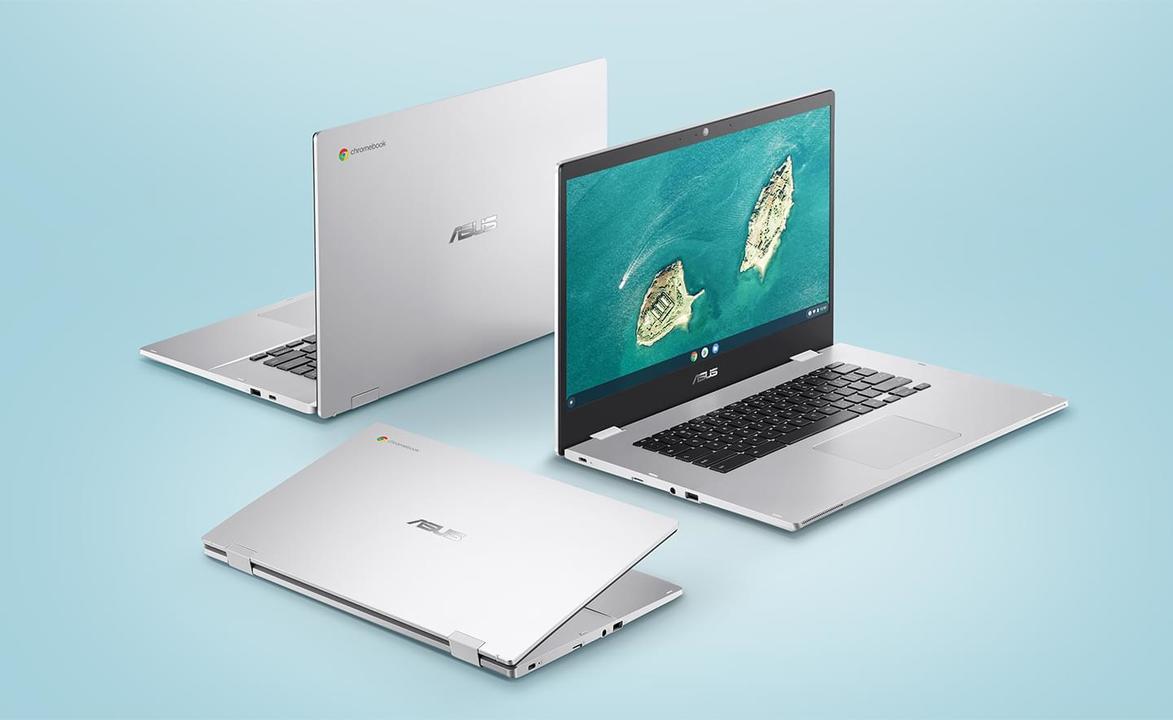 ASUSの「Chromebook CX1」が大顔なんだけど小顔っぽさもある