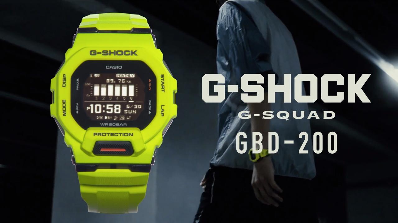 伝統の角型フェイス。スマートウォッチ「GBD-200」はやっぱりG-SHOCKなんです