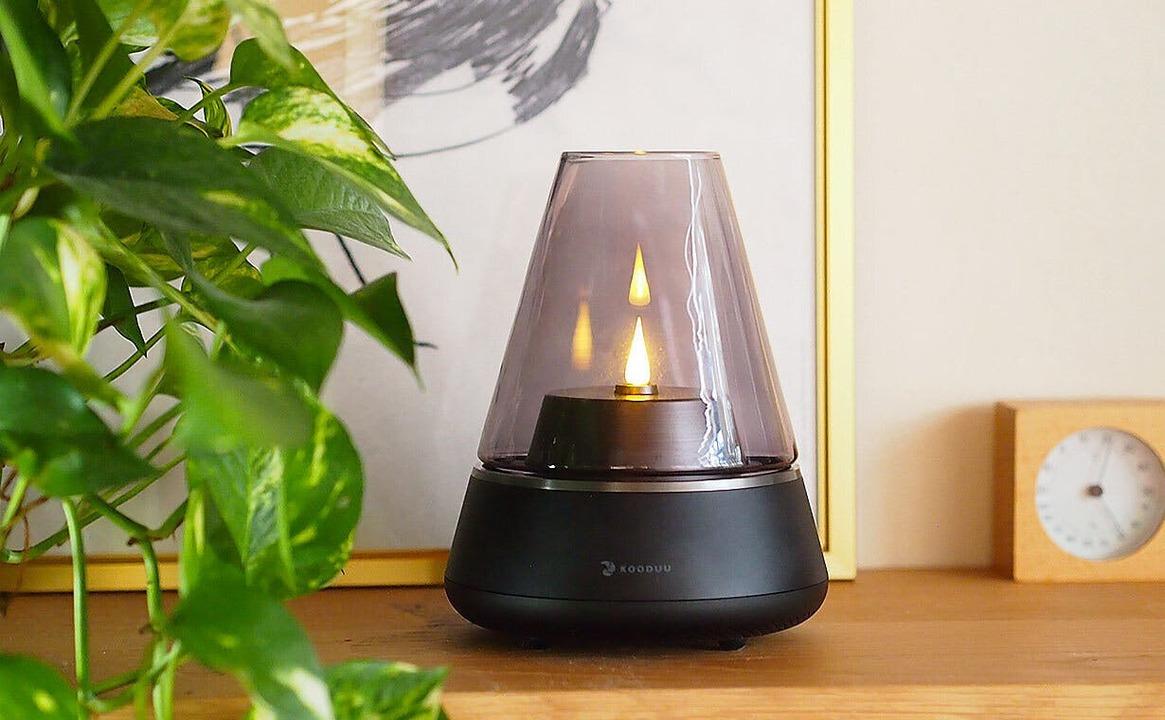 北欧発のゆらめく灯りでホッと一息。LEDライト付きランタンスピーカー「Nordic Light Pro」