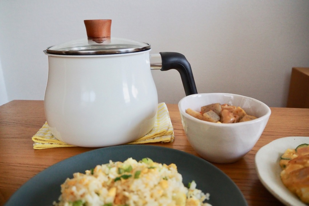 1台7役の「マルチポット」が、狭いキッチンの救世主に! 煮る、揚げる…時短でお米まで炊けちゃう
