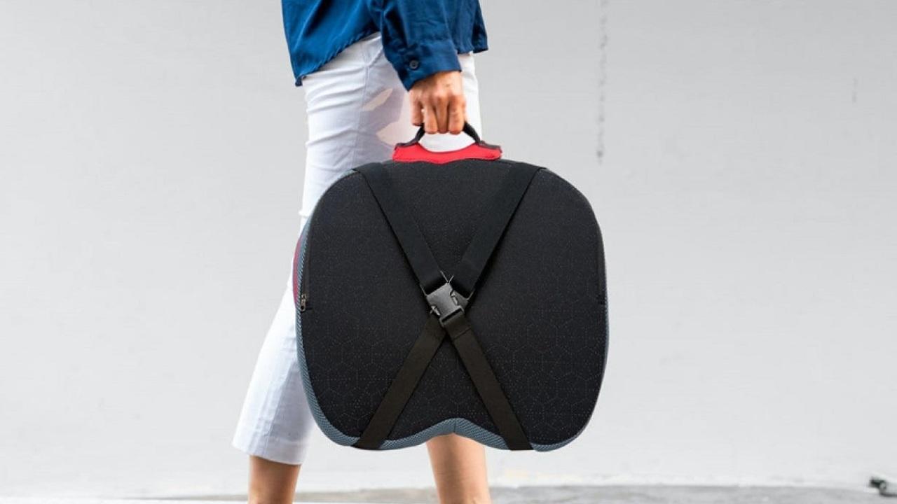 リモートワークの効率アップに高性能クッション「Folding Cushion」でもっと快適に