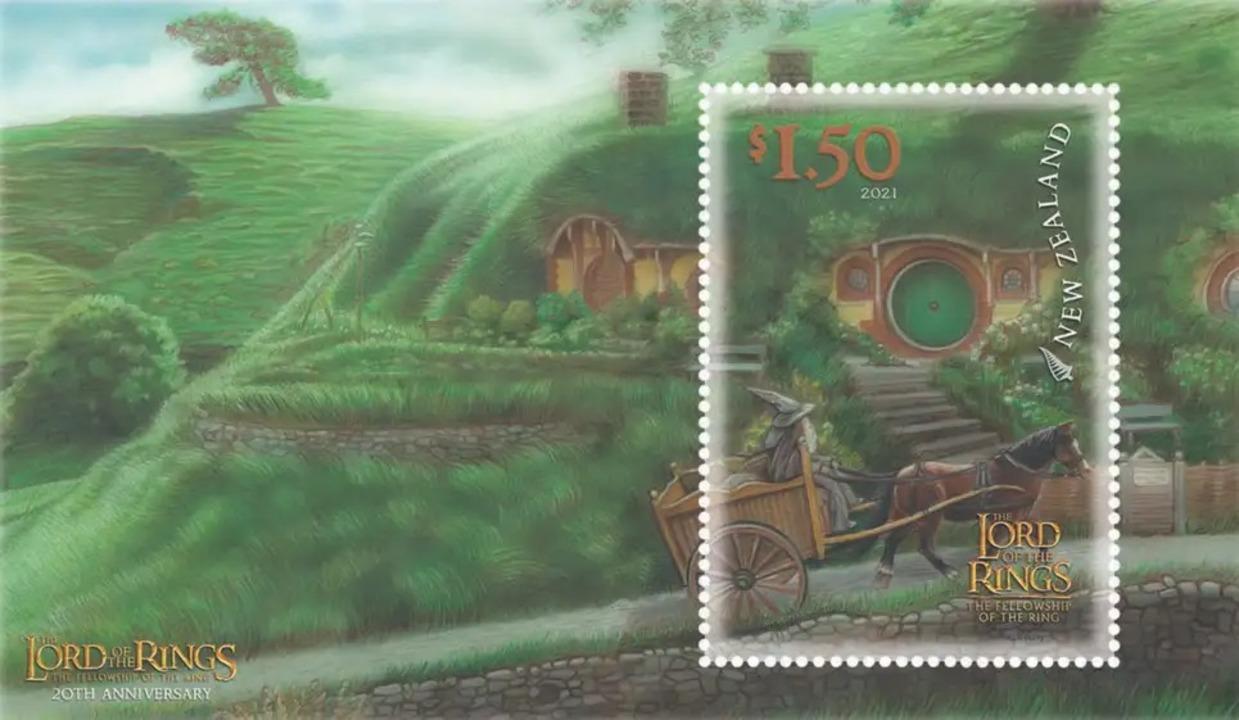 『ロード・オブ・ザ・リング/旅の仲間』の公開から20年、ニュージーランドでメモリアル切手発売へ
