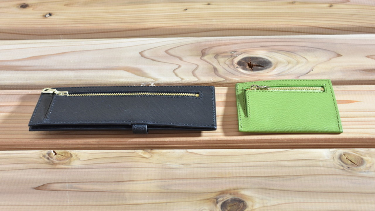 厚さ1.5cm! 開ける手間を省いたシャープな財布「ASHITA」を試してみた