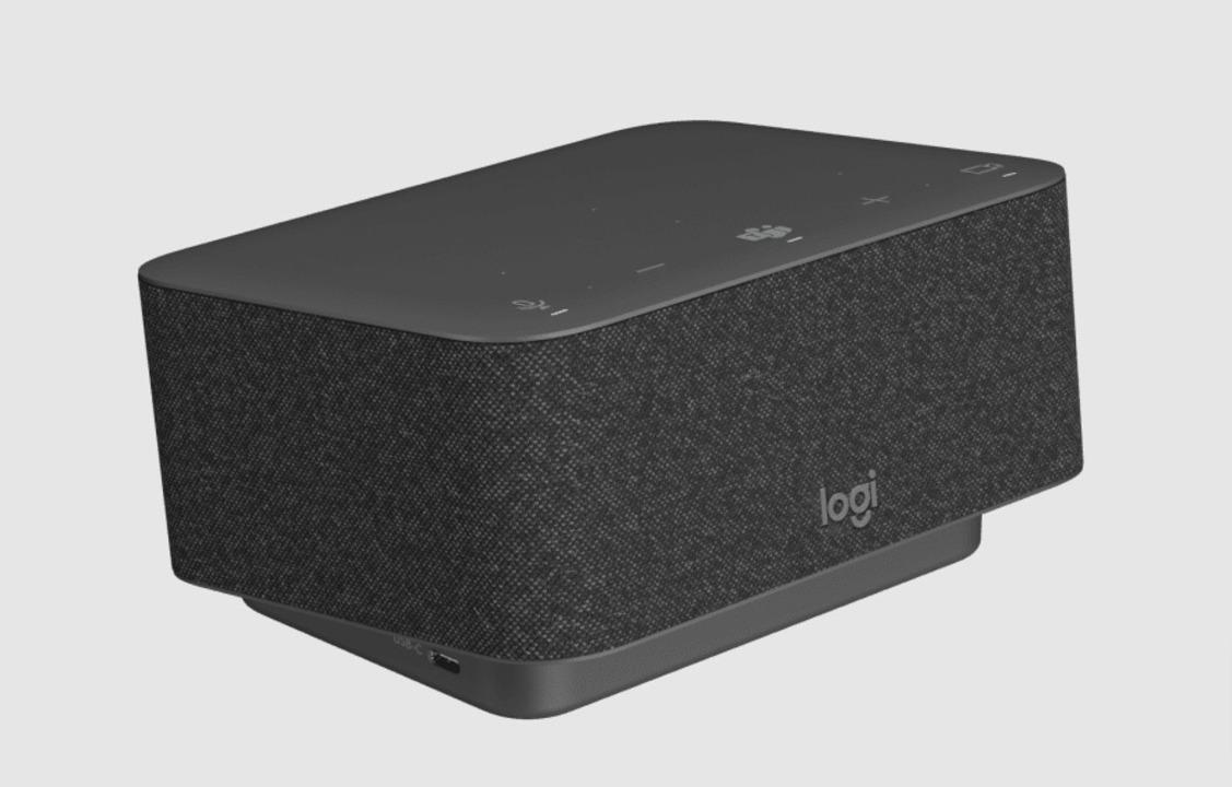 ウェブ会議で活躍するスピーカーフォンの「Logi Dock」。ドッキングステーションとして機能拡張もお任せあれ!