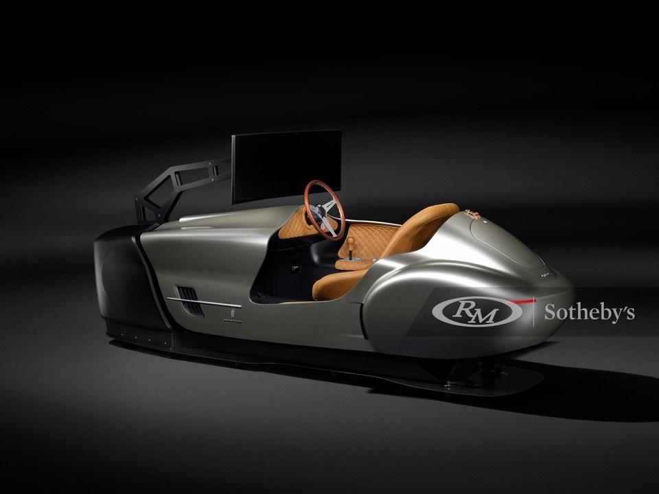 ピニンファリーナが手作りしたレトロなドライビング・シミュレーター、サザビーズの競売に出品