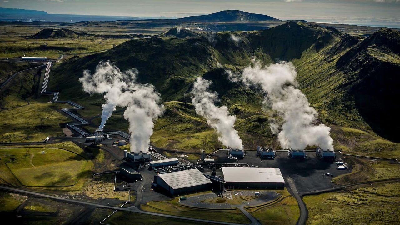 空気からCO2を吸い取る史上最大施設、アイスランドで始動