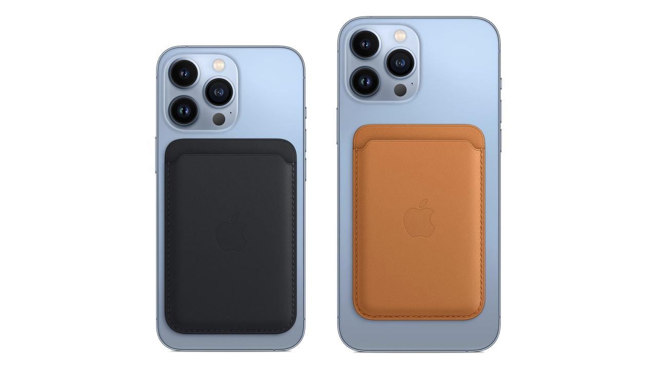 iPhoneにくっつくレザーウォレットは、1分以上離れると通知が来る #AppleEvent