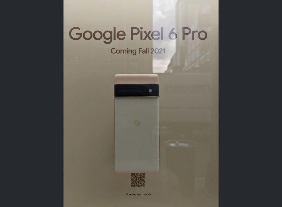 ニューヨークのGoogle StoreでPixel 6実機を展示。出すよ出るよアピール