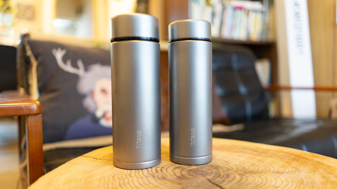 外出時や家でも役立つ。純チタン製サーモボトル「Therma」でコーヒーのおいしさキープ!