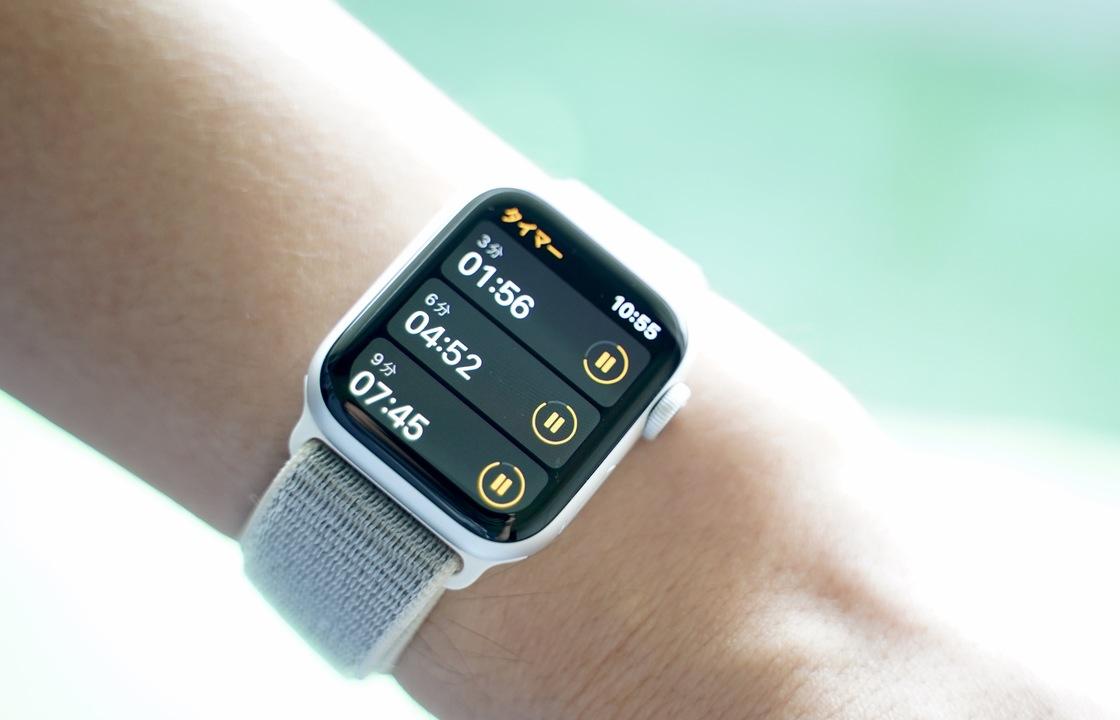 【watchOS 8】カップ麺も、運動も、テレビの時間も。Apple Watchで複数のタイマーが同時管理できます