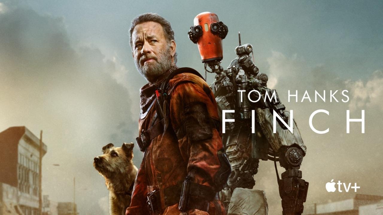 トム・ハンクスが滅びた世界で犬とロボットと生き延びるApple TV+映画『Finch』