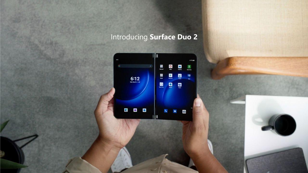 「Surface Duo 2」が機能的で美しすぎる… #MicrosoftEvent