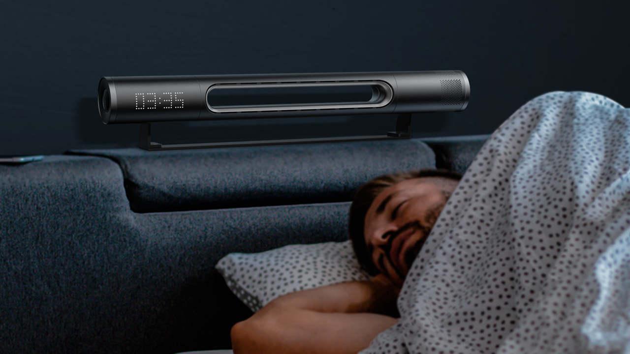 空気清浄機でスピーカー、ライト、時計、冷暖房も。究極のスマート家電「Haxson」
