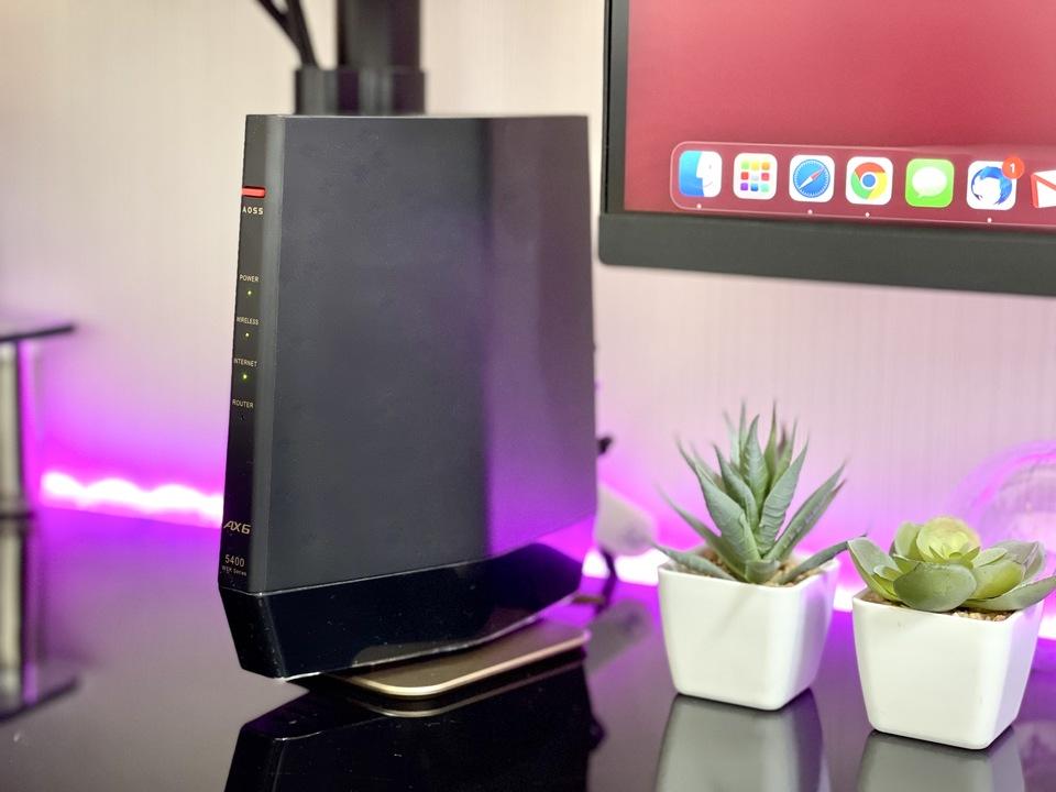 バッファローの定番Wi-Fi 6ルーターで、PS5リモートプレイが有線LANレベルで安定したよ!