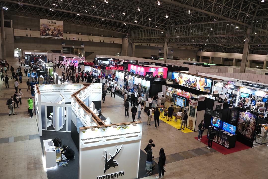 今年の東京ゲームショウ、現地は2ホールのコンパクト開催でした #TGS2021