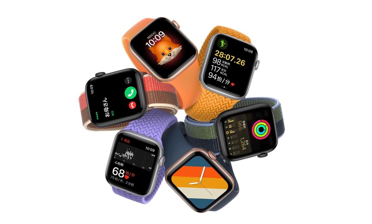 Apple Watch SEとApple Watch Series 3。ほんのちょっぴり値上げされました