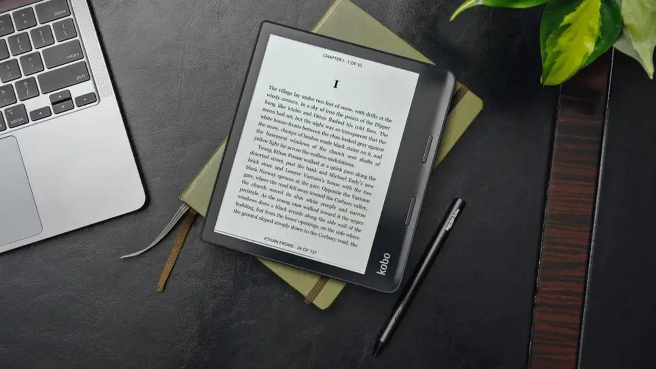 小型でお手頃価格のEインクタブレットKobo Sage発表。Libra 2も予約開始