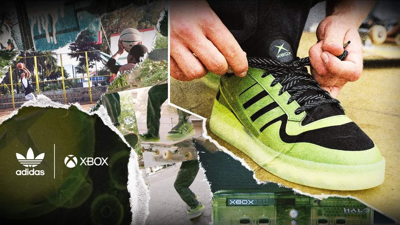 第1弾のテーマは『Halo』。Xbox20周年を記念したアディダスのスニーカーが誕生