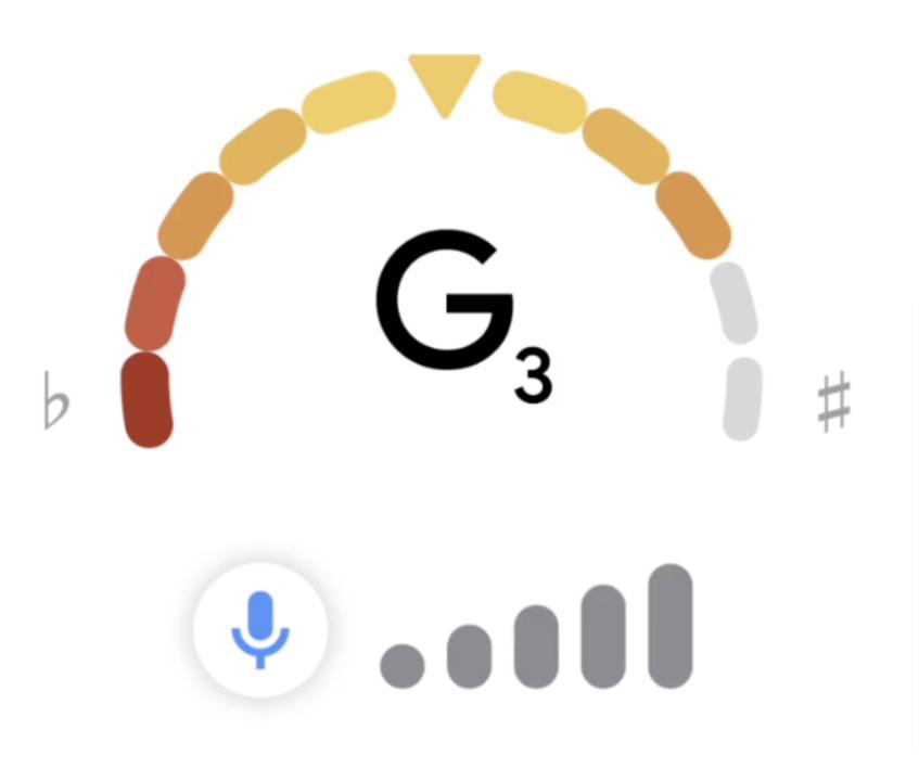 ギターのチューニングは「google tuner」を検索するだけ。もう音叉もアプリも不要になるね