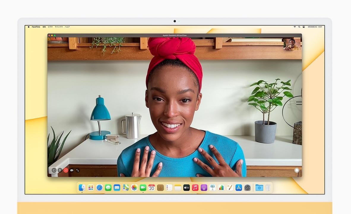 新型MacBook Pro。1080pのFaceTime HDカメラになるってホントかな?