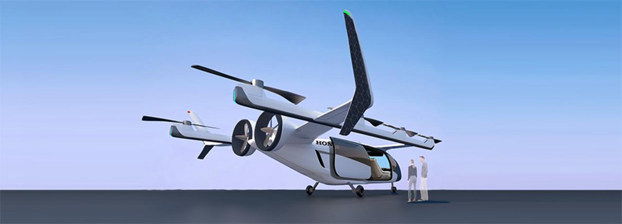 ホンダがハイブリッドな電動垂直離着陸機「Honda eVTOL」開発に着手