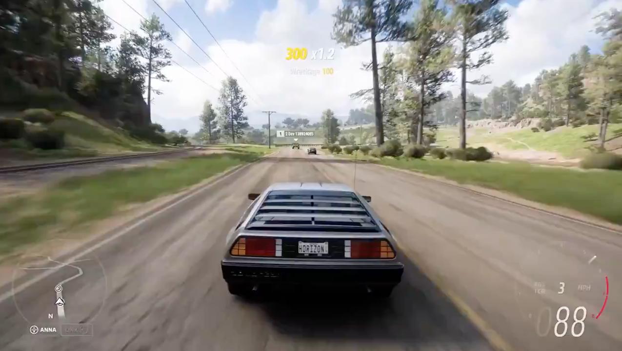 未来には帰れないけど『Forza Horizon 5』でデロリアンを運転できるように