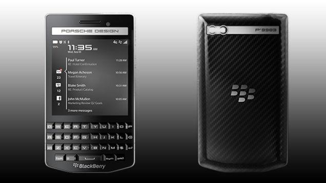 まだ生きてるぞ! ポルシェデザインによる新BlackBerry