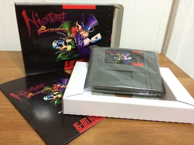 時を越えて…! スーパーファミコン向け新作ソフト「Nightmare Busters」が20年ぶりに復活(動画あり)