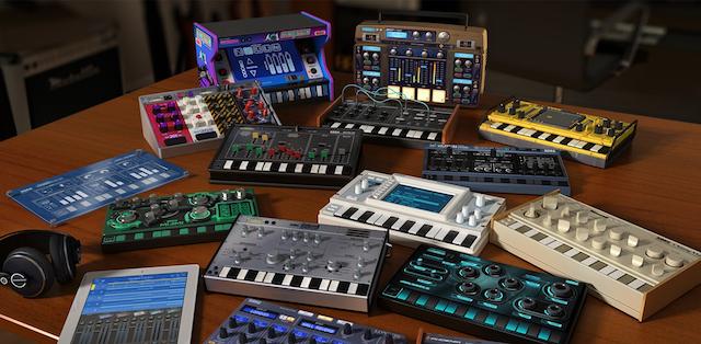 オリジナルのシンセとドラムマシンが15個も! KORGのiPad専用アプリ「KORG Gadget」がリリース(動画あり)