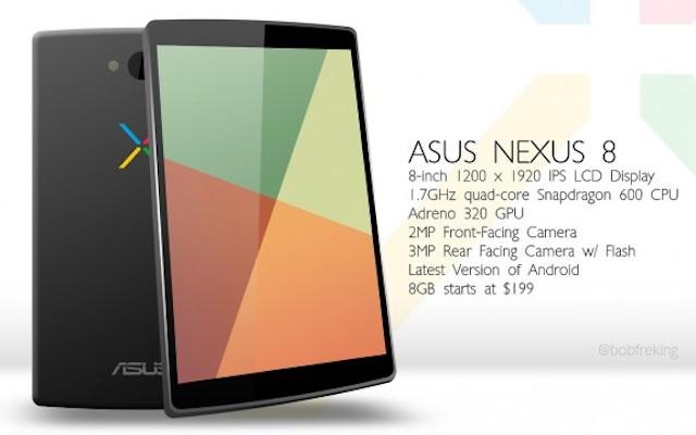 【噂】8インチのNexus 8が4月末に登場し、HTC製のNexus 10も目下開発中?