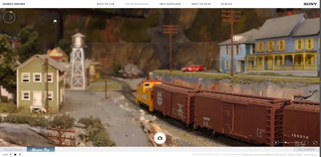 興奮する! ソニーのレンズスタイルカメラQX100でググッと迫る世界最大級の鉄道模型ジオラマ