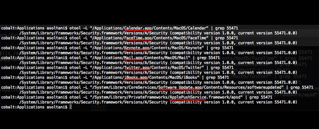アップルのセキュリティの脆弱性の影響を受けるOS Xアプリ一覧(追記あり)