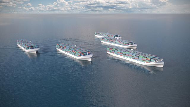 無人機ならぬドローン貨物船、ロールスロイスが開発中