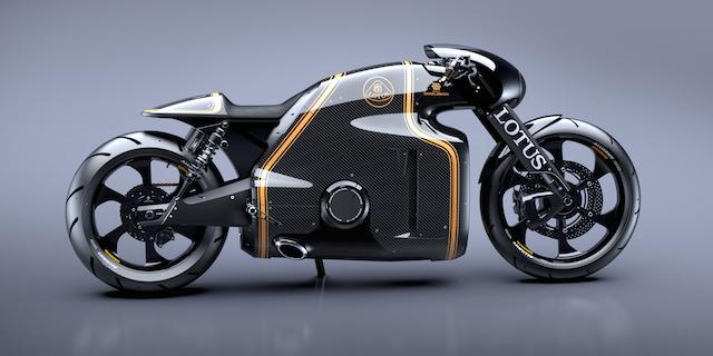 未来感やばい! ロータス初のスーパーバイクがめちゃくちゃかっこいい