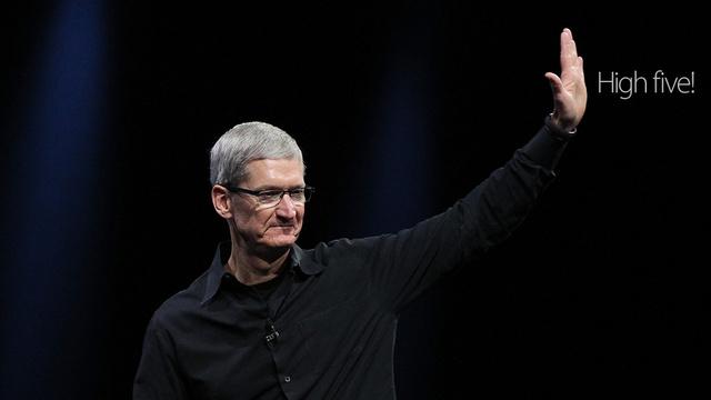 アップルのクックCEO、環境重視にアンチの株主を一喝