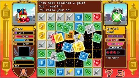 パズルとRPGが融合した、一度始めると抜けられないスマホゲーム『Block Legend』