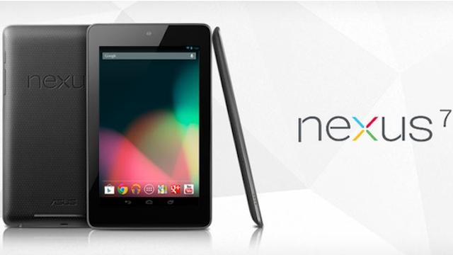 安いぞ! 旧型Nexus 7 32GBがアマゾンで1万円引きの1万4800円でセール中